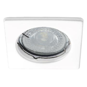Spot encastrable carré Blanc KANLUX Support pour LED 12V ou 2230V