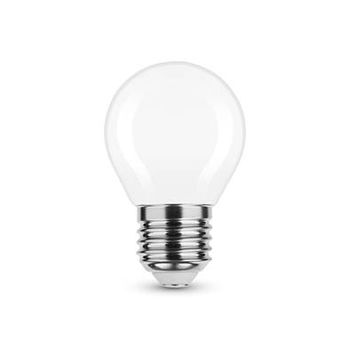Ampoule LED Filament Milky Globe Mini G45 4W E27 360° 4000K