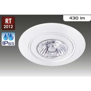 Spot LED RT2012 IP65 ARIC 6W 38° Blanc Chaud 220V 50260 AIR BLOCK